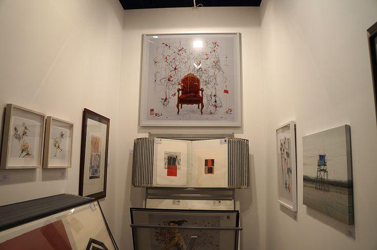 """""""El sillón donde habitan las ides"""" Xurxo Gómez-Chao. Galería BAT-Alberto Cornejo. Feria Estampa 2014. Madrid. #ArtFair #ArteContemporáneo #ContemporaryArt #Art #Arte #Arterecord https://twitter.com/arterecord"""