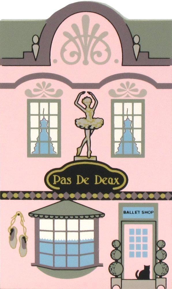 Cat's Meow Village NUTCRACKER Christmas Pas De Deux Ballet Shop #02-532 NEW #CatsMeow