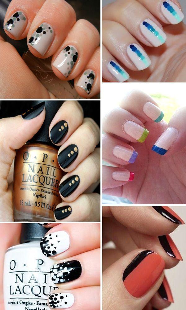 Easy nail art - Unghie semplici