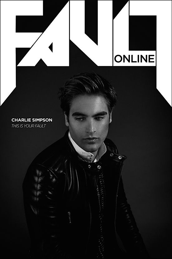 Charlie Simpson for FAULT magazine