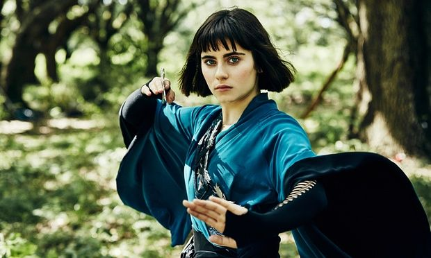 Ally Ioannides as Tilda in Into the Badlands.