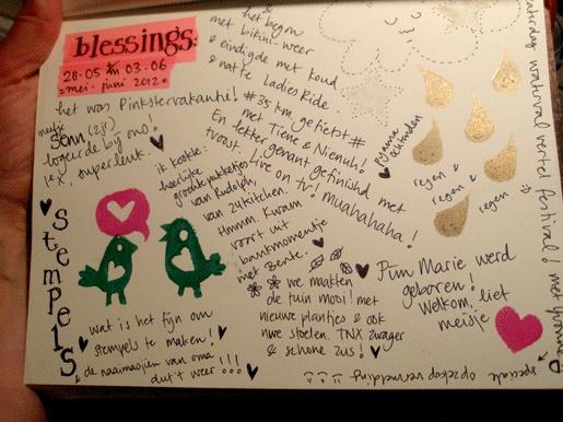 Blessings 04 juni 2012