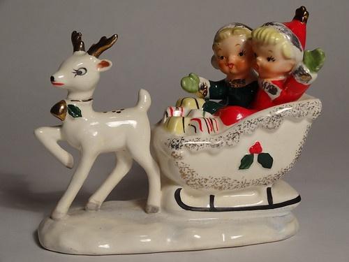 132 Best Vintage Christmas Porcelain Images On Pinterest