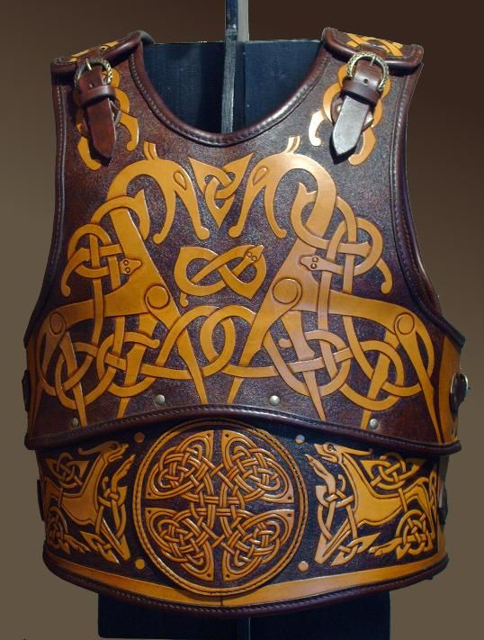 Leather Armour 3 by ~Maxrobo. Vikings were distant relatives of the Irish and continued to carry off celtic women in raids well into the 16th century.