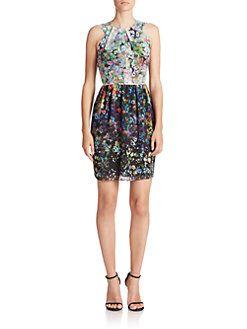 Shoshanna - Adrianna Floral Dress