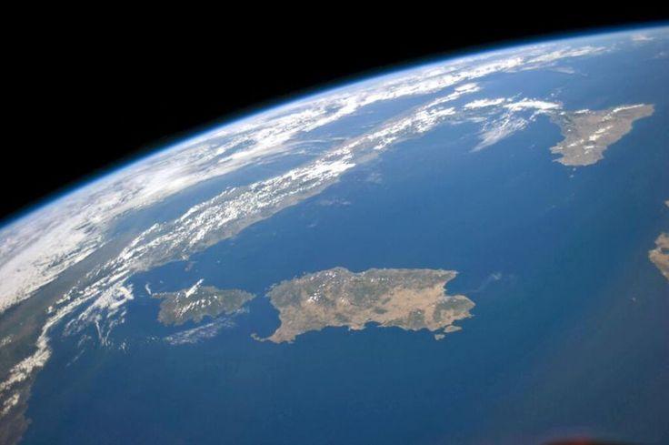 Európa na satelitných snímkach a fotografiách z ISS - Lepsia geografia