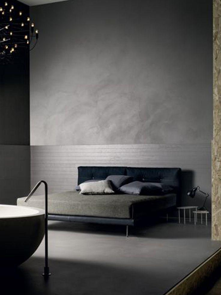 resine pavimento parete