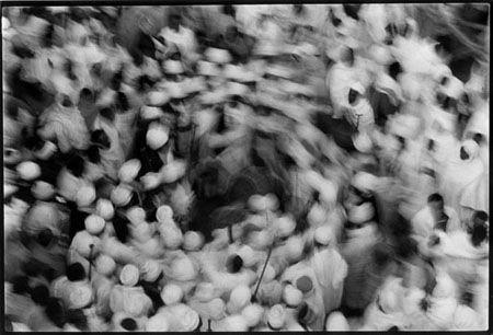 """Peregrination to black Jerusalem"" by Fernando Moleres"
