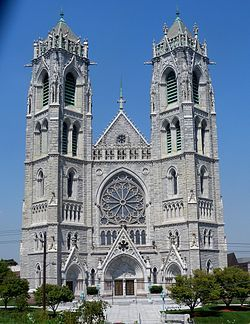 Cathedral Basilica of the Sacred Heart, Newark, NJ. 5th largest cathedral in North America.