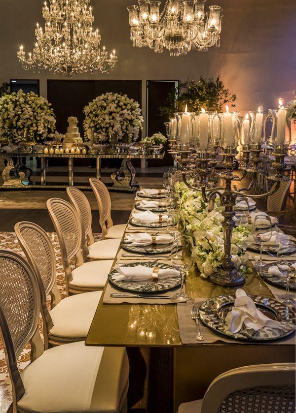 Decoração de casamento em verde e branco na Casa Itaim - Constance Zahn   Casamentos