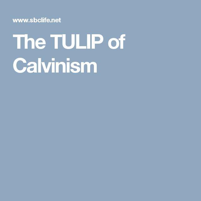 The TULIP of Calvinism