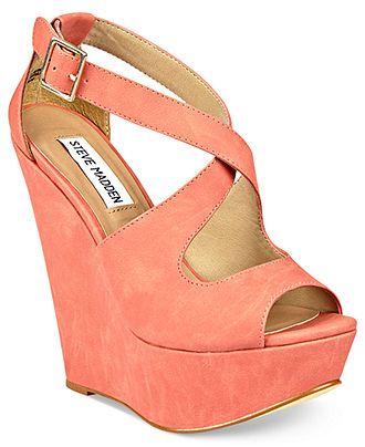 Steve Madden Womens Shoes, External Wedge Sandals - Espadrilles & Wedges - Shoes - Macys