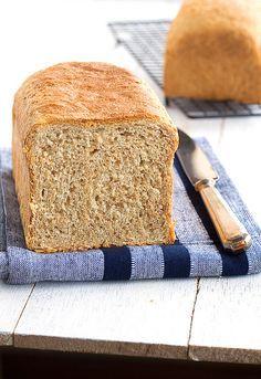 Exquisito pan de molde integral perfecto para tostar