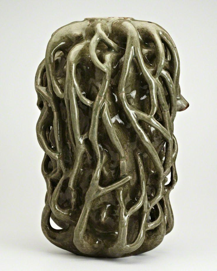 Axel Salto; Glazed Ceramic Vase, c1940.