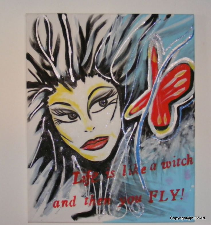 """"""" life is like a witch and then you fly"""" Ac …"""