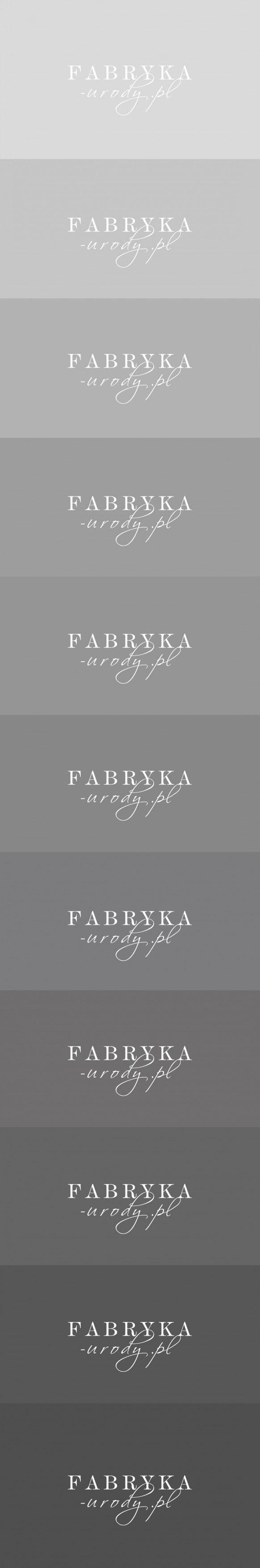 Praca nr 289706 w konkursie Projektowanie logo dla salonu kosmetycznego fabryka-urody.pl | Corton.pl