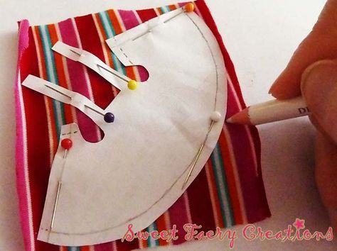 Sweet Faery Creations: ♡ Patrones: Vestiditos muñeca Mini-