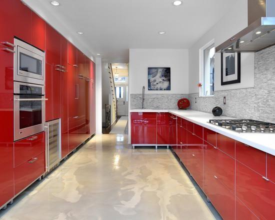 Cozinhas Vermelhas: 50 Modelos Maravilhosos E Inspiradores Part 41