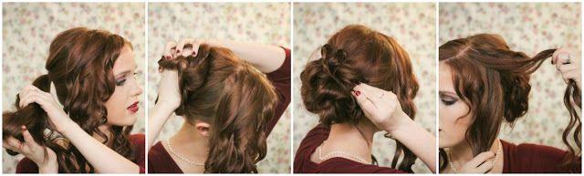 The Freckled Fox : Holiday Hair Week: The Fancy Bun
