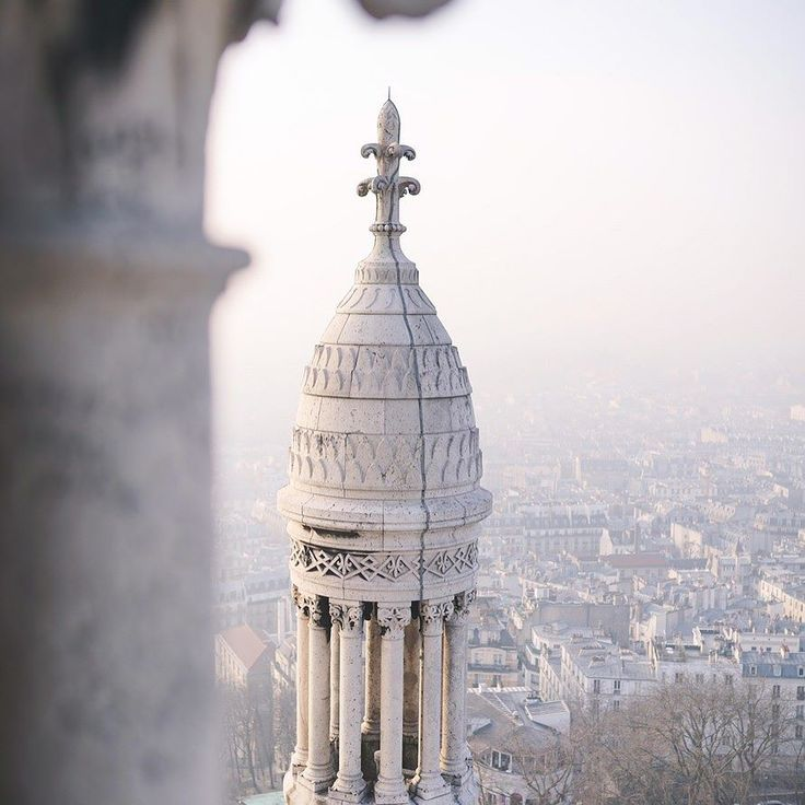 Stunning views from the top of Sacré-Cœur plus some of the prettiest gargoyles I've ever seen!