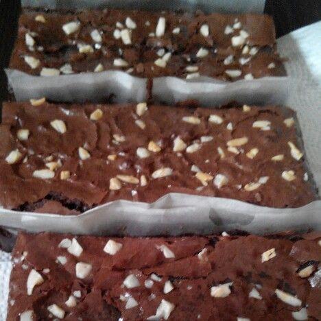 Choco white lava cake