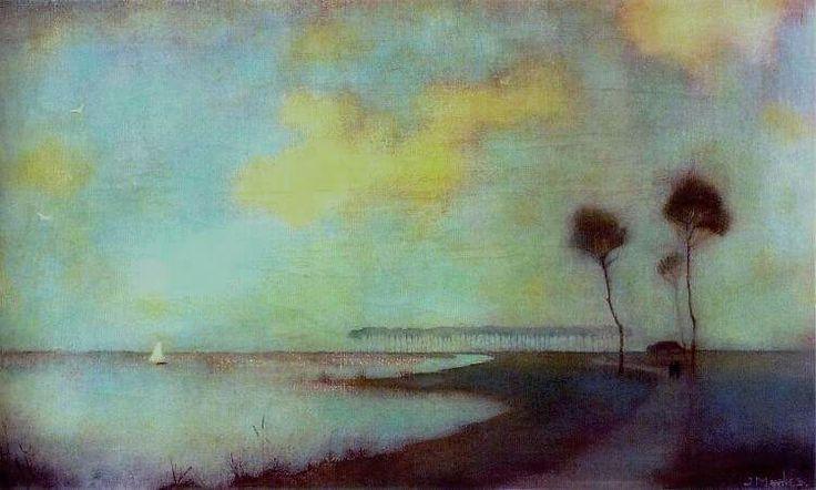 Waterlandscape (1912) - Jan Mankes