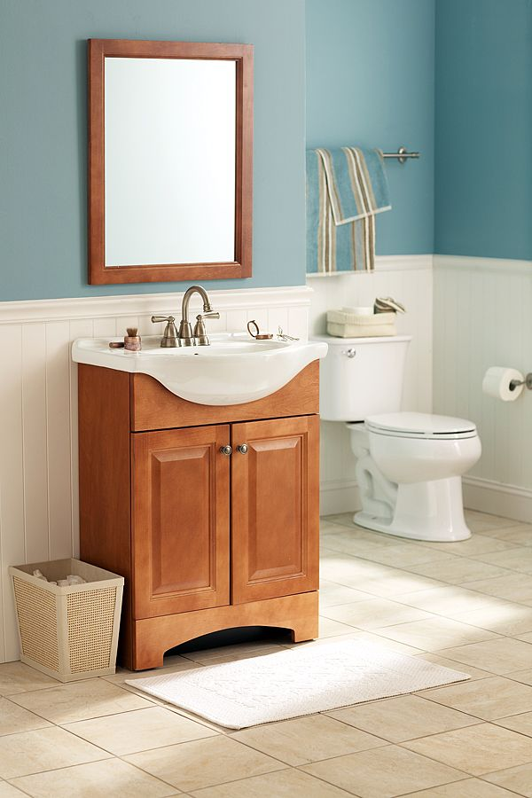 Casual styling and a beautiful finish match well with for Casual bathroom ideas