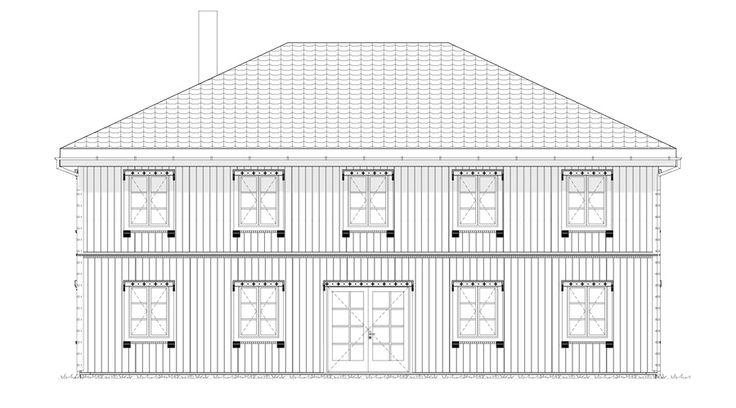 Fasade Odel - et kataloghus fra Norgeshus.