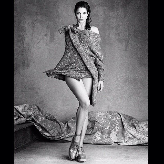 Stephanie Seymour shot by Luigi and Iango wearing @stellamccartney styled by @bat_gio @voguejapan @anna_dello_russo  @_virginiayoung_ by luigimurenu