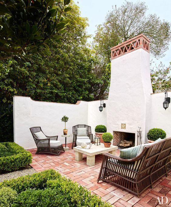 Mediterranean Revival Designs Curated By Los Angeles: Best 25+ Spanish Patio Ideas On Pinterest