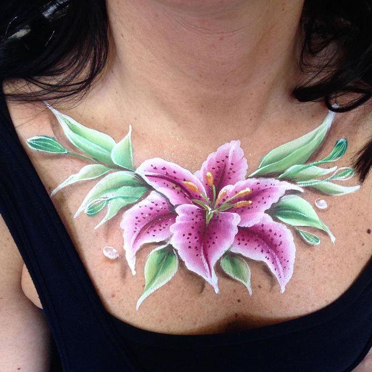 "59 Likes, 1 Comments - Silvia BodyPainter (@silviavitali_bodypainter) on Instagram: ""Flowers_body painting by Silvia Vitali_www.facepainting.academy"""