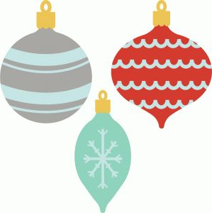 Silhouette Online Store: ornaments
