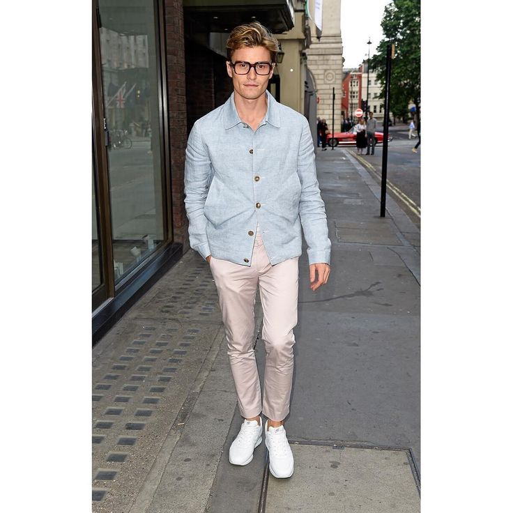 Charming @oliver_cheshire wearing #HOGAN #H321 #sneakers at the #ASTONMARTINxHOGAN event during #LFW