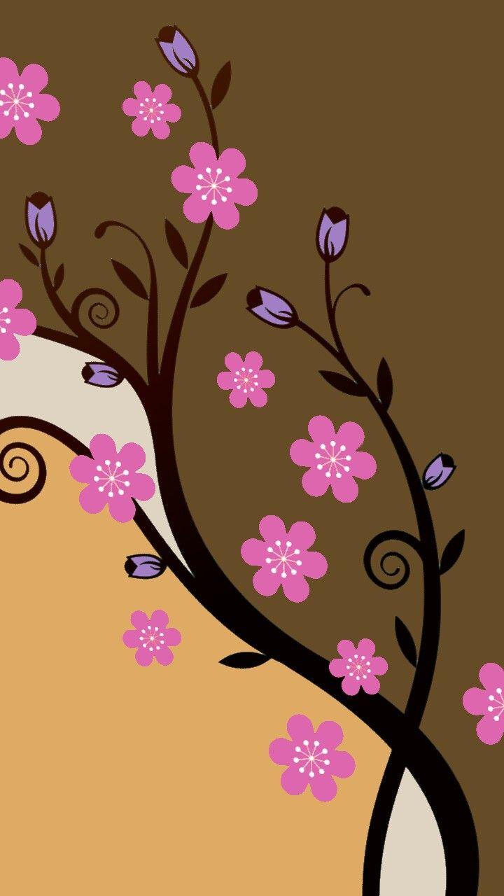 Best 25 vintage flowers wallpaper ideas on pinterest - Flower wallpaper for your phone ...