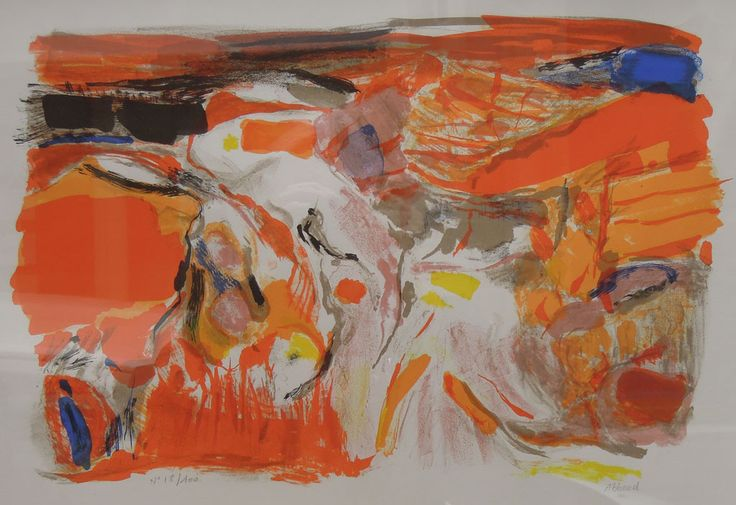 shafi abboud en Galerie Claude Lemand