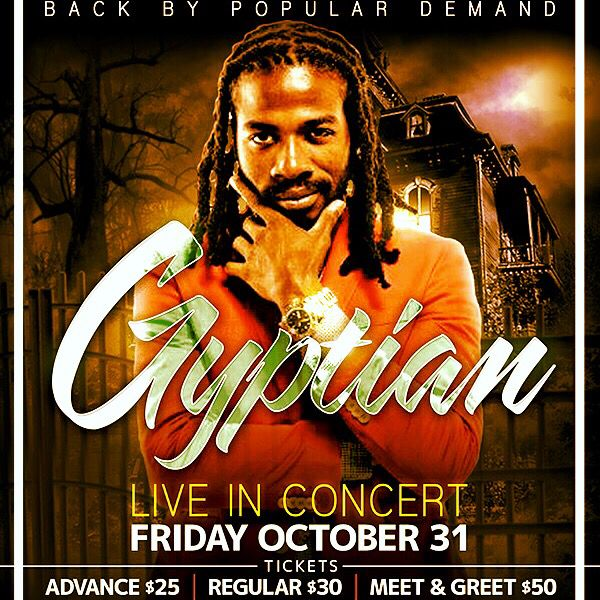 The Return of Gyptian LIVE @ Karma Lounge & NightClub (575 Portage Ave) **Text 204-298-7224 to reserve your tickets - all advance tickets are SOLD OUT**