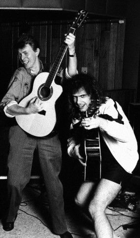 David Bowie and Pat Metheny