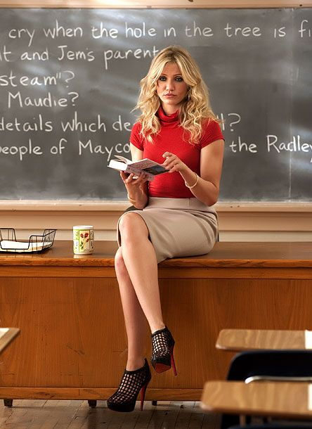 Cameron Diaz, Bad Teacher--ok is it bad that all of my friends say this movie is about me once I become a teacher??