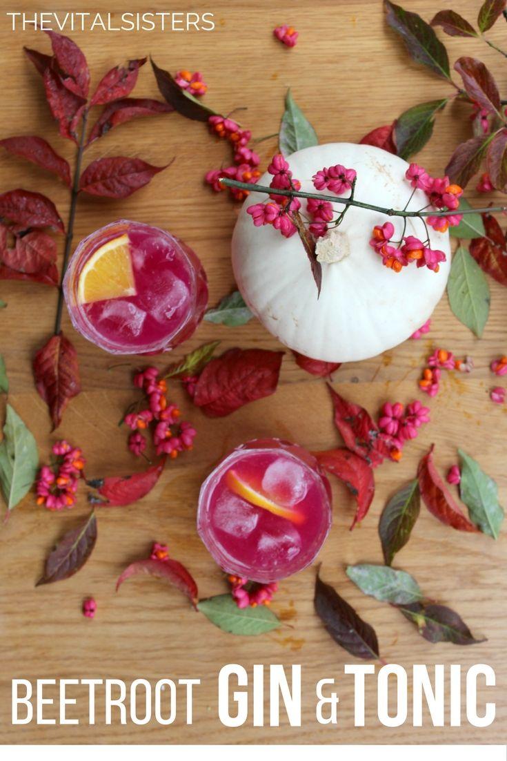 Beetroot Gin & Tonic