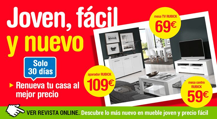 Solo 30 días! Renueva tu casa al mejor precio con Tuco. Ofertas válidas hasta 30/04/2016. Más info en http://www.tuco.net/