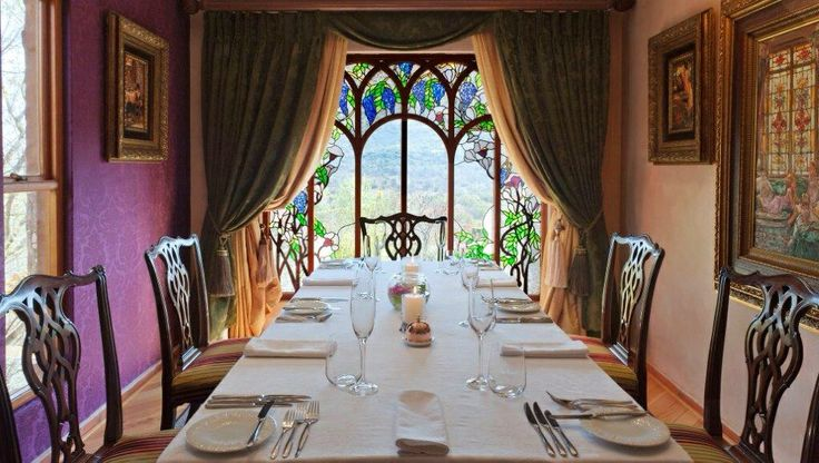 Our Tiffany Private Dining Room