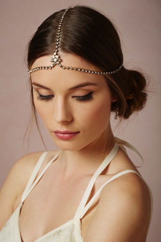 Regal Hair Accessories. #Jewelry #Headchain http://www.jannahgifts.com