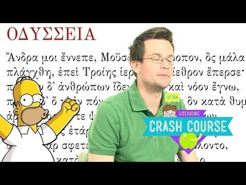▶ Crash Course Literature 2 Preview - YouTube - time to get reading/re-reading again.