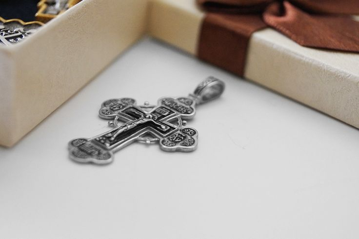 Monastic Crosses made of pure silver 925o - Handmade by Greek Orthodox Monks they depict Virgin Mary, Jesus Christ and other important Saints of the Greek Orthodoxy! #handmade #silver #crosses #jewels #jewelry #kosmimata #agioreitika #monastiriaka #stauros #cross #virgin #mary #jesus #christ