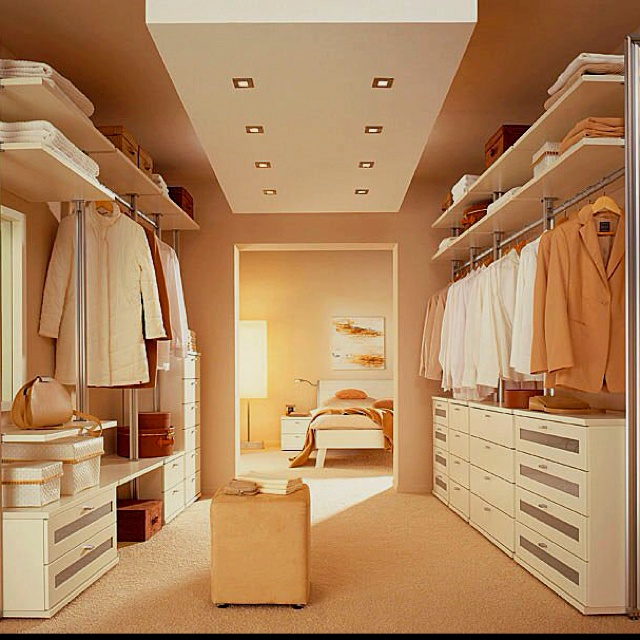 Walk in Wardrobe - one half of this