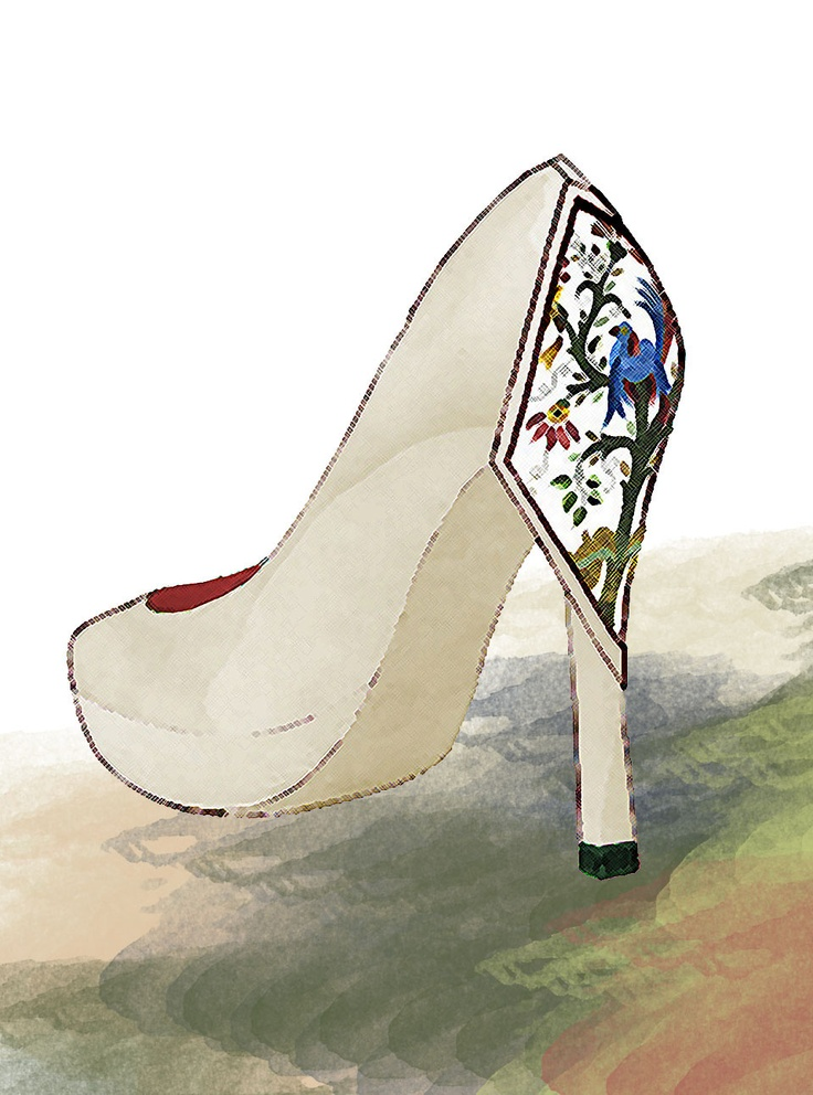 NATURAL, entirely handmade shoe lined with typical embroidery made in Portugal, Castelo Branco