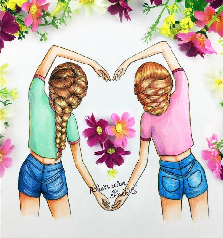 Two sweet girlfriends making love 4