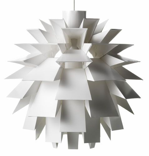 Artichoke Lamp: Made in Denmark.