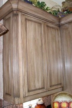 Kitchen Cabinets Before & After - mediterranean - kitchen - dallas - Glen Houston's Painting