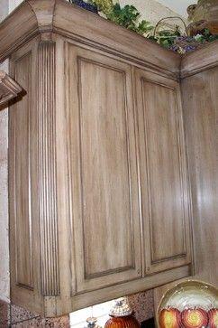 Kitchen Cabinets Before & After - mediterranean - kitchen - dallas - Glen Houston's Painting